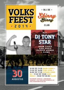 Volksfeest 2014 Bij Skinny Binny Club